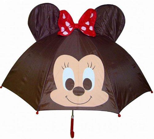 キャラクター 耳付き傘 ミニー
