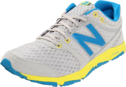New Balance Women's W730 Running Shoe,Silver/Blue,8.5 B US