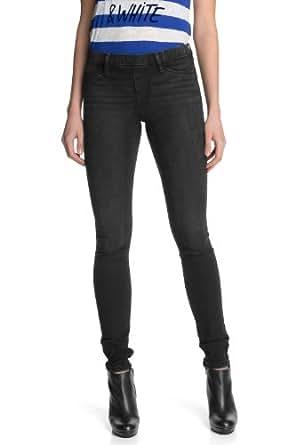 edc by ESPRIT Damen Jeans Normaler Bund 123CC1B030, Gr. 38/32, Schwarz (989 BLACK DENIM)