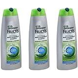 Garnier Fructis Clean & Fresh Anti-Dandruff Shampoo - [3 pack]