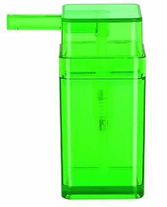 Amazon.com - Spirella Cubo Clear Green Soap Dispenser, Polystyrol