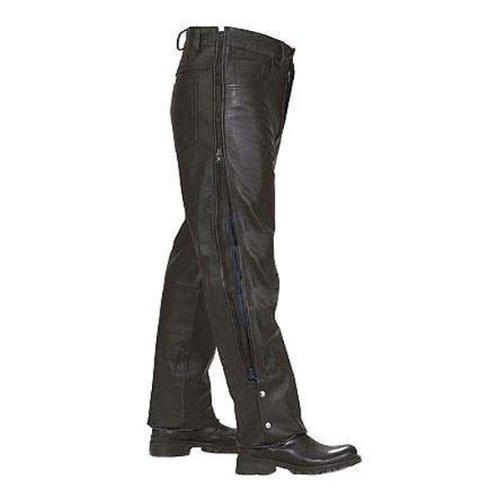 Jafrum Men's Black Leather Overpants 38