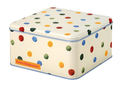 Emma Bridgewater Polka Dot Square Tin