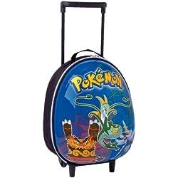 Mochila Pokemon rígida con ruedas tamaño pequeño