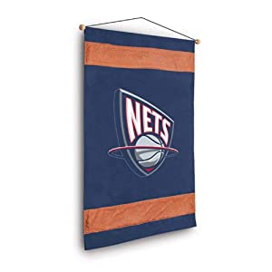NBA New Jersey Nets MVP Wall Hanging by Sports Coverage