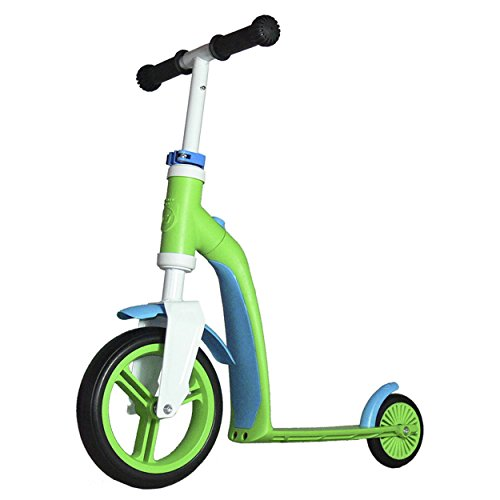 Scoot and Ride 2-in-1 Highway Baby Scooter, Green, Universal