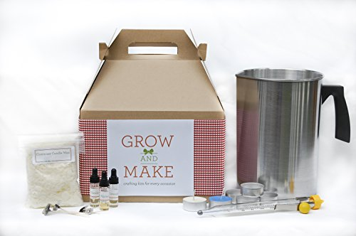 Complete Tea Light Soy Candle Making Kit (Makes 50)
