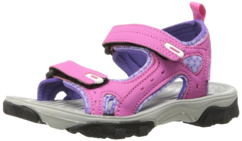 Northside Riverside Fisherman Sandal (Toddler/Little Kid/Big Kid),Fuchsia/Multi,10 M US Toddler