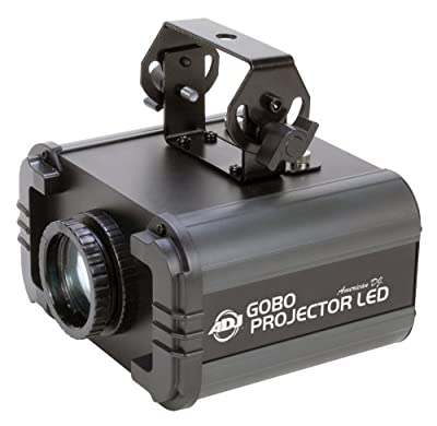 American Dj Supply Gobo Projector Led Projects Custom Or Stock Gobos To A Surface Led Powered
