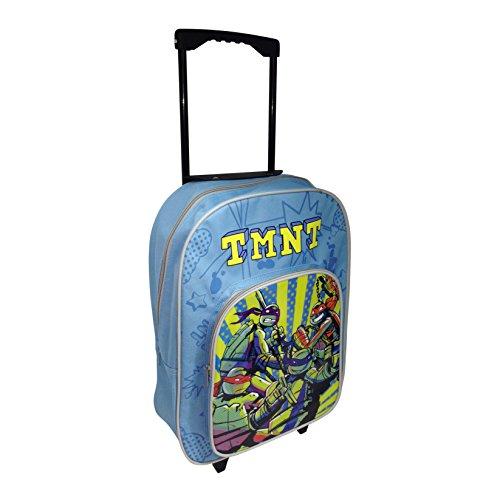 Arditex-008824-Trolley/cartella con rotelle, le tartarughe Ninja, 31,5 X 40 X 12 Cm