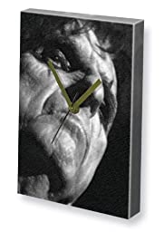 ALICE COOPER - Canvas Clock (LARGE A3 - Signed by the Artist) #js003