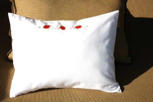 Lady Bug Baby Pillow
