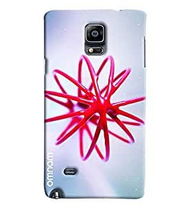 Omnam Spiral Made Of Jelly 3D Printed Designer Back Case Samsung Galaxy Note 4