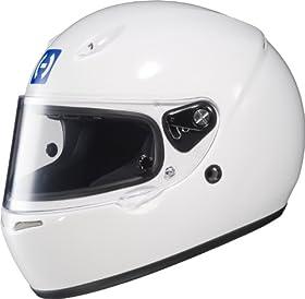 HJC Helmets 2WS10 AR-10 II White Small SA2010 Approved Auto Racing Helmet