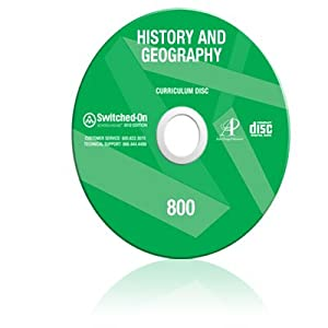 2012 Switched On Schoolhouse, 8th Grade, Grade 8 History / Geography Curriculum by AOP (Alpha Omega HomeSchooling), SOS CD-ROM
