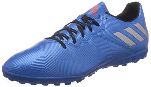 Adidas Messi 16.4 Tf Scarpe da Calcio Uomo, Blu (shock Blue/matte Silver/core Black), 43 1/3 EU