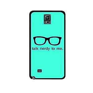 Vibhar printed case back cover for Samsung Galaxy Note Edge TalkNerdy