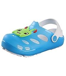 Yueqier Children Kids Toddler Classic Garden Clog Tangbao Lightweight Mule Sandals Shoes Blue