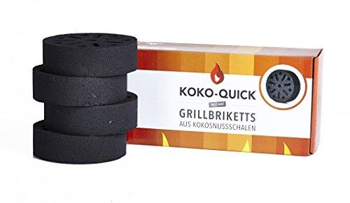 Kokosnuss Grillkohle Koko Quick