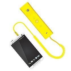 Phoni 3A Retro Handsets Portronics-Yellow