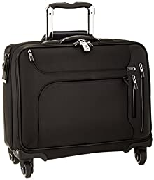 Tumi Arrive Norwich 4 Wheeled Brief with Laptop Insert, Black, One Size