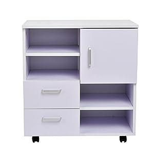 mobile kommode schrank anrichte mehrzweckschrank mit t re schublade k che haushalt. Black Bedroom Furniture Sets. Home Design Ideas
