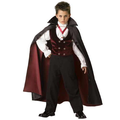 Gothic Vampire Elite Collection Child Costume - Kid's Costumes