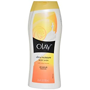 Olay Body Ultra Moisture Body Wash, 23.6 Ounce (Pack of 3)
