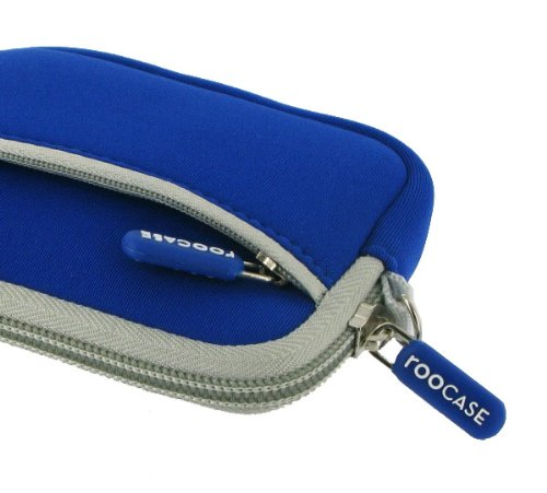 rooCASE Neoprene Sleeve (Dark Blue) Carrying Case for Panasonic Lumix DMC-TS3 Digital Camera