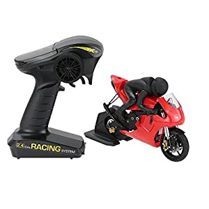 Goolsky X-Rider CX3-Ⅱ T20GC 1/10 Brushless RC Motorcycle RWD with 2.4G 3CH Racing Transmitter