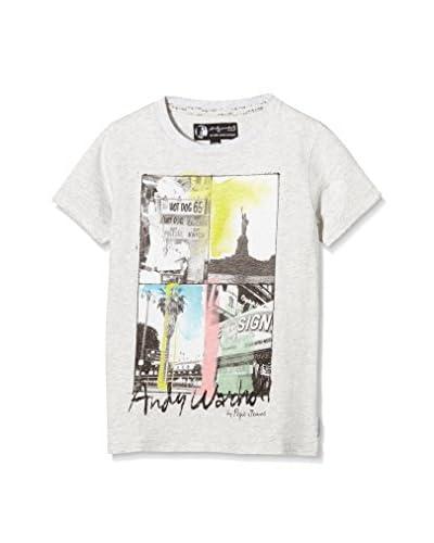 Pepe Jeans London T-Shirt Manica Corta Audience [Grigio Chiaro]