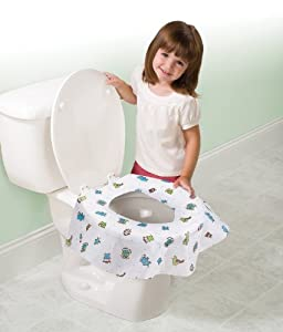 Summer Keep Me Clean Disposable Potty Protectors, 45 Count