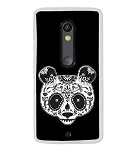 Artistic Panda 2D Hard Polycarbonate Designer Back Case Cover for Motorola Moto X Play