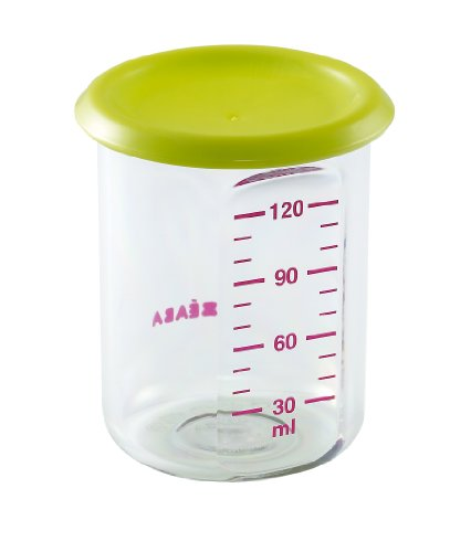 BEABA Portions Tritan Containers, Green,5oz - 1