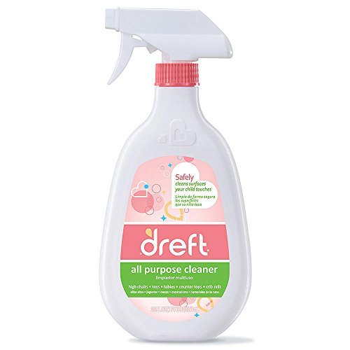 Dreft All Purpose Cleaner, 22 Ounce, (Pack of 3) (Countertop Baby Chair compare prices)