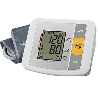 Upper Arm Blood Pressure Monitor (0~299Mmhg, ¡À3Mmhg, 4Xaa Battery)