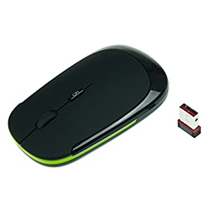 Nano 2.4G Wireless Optical Mouse with DPI Switch (Black)