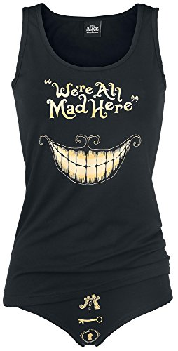 Alice In Wonderland Mad Mouth Intimo donna nero S