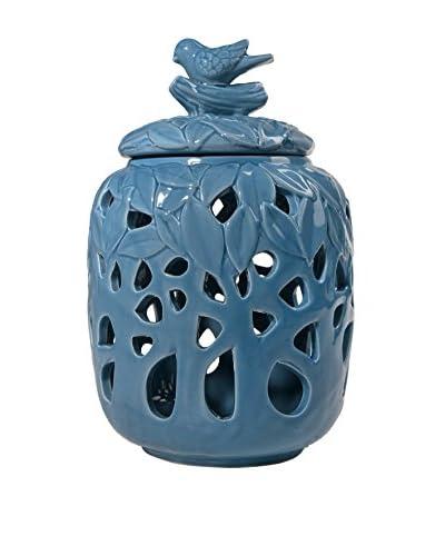 Donny Osmond Home Decorative Jar, Blue