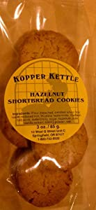 Hazelnut Shortbread Cookies 3 Oz. Bag: Buy 4 Get 1 Free