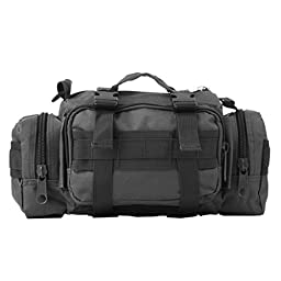 JSH Outdoor Sport Large Capacity Single Shoulder Bag For Camping Mountaineering jsh1526 Black