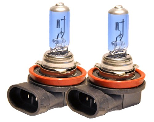 JDM H11 12V 100W Fit: Low Beam or Fog Light Xenon White Direct Plug in Replacement Bulbs (Kia Koup Fog Lights compare prices)