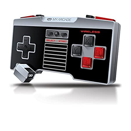 My Arcade GamePad Pro - Wireless, Advanced, Ergonomic Controller for the NES Classic Edition