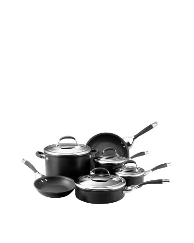 Circulon Elite Hard Anodized Nonstick 10-Piece Cookware Set