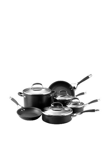 Circulon Elite Non-Stick 10-Piece Cookware Set, Charcoal