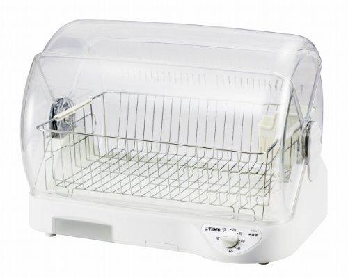 TIGER 食器乾燥機サラピッカ (温風式) ホワイト  DHG-H400-W