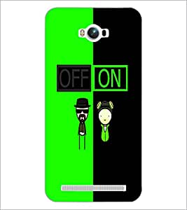 PrintDhaba Funny Image D-4017 Back Case Cover for ASUS ZENFONE MAX ZC550KL (2016) (Multi-Coloured)