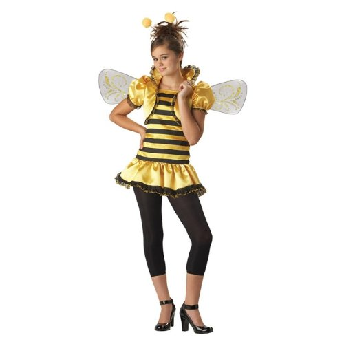 Costumes For All Occasions IC18001LG Honey Bee 2B Child 12-14