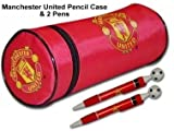 Man Utd Pencil Case & 2 Pen Set