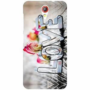 Printland Love Is Cool Phone Cover For HTC Desire 620G